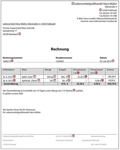 Rechnung Kleinunternehmer Steuernummer Angeben Richtige Rechnungserstellung Vom Steuerberater