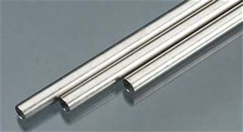 stainless steel hobby and craft metal tubing
