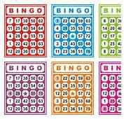 Free Vector Colorful Bingo Cards 26808  My