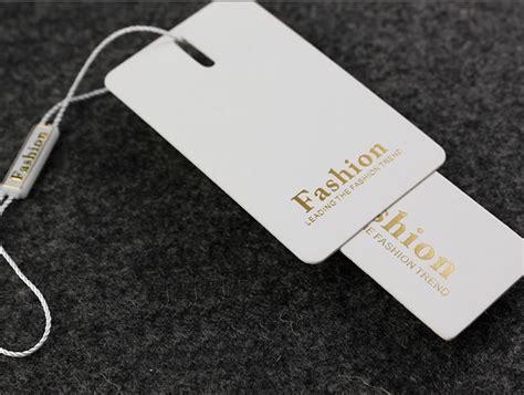 clothing swing tags custom hang tags clothing printed paper swing tag