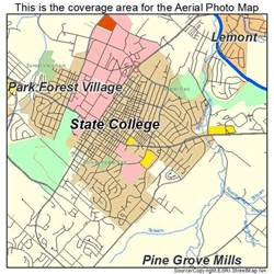 college and state map aerial photography map of state college pa pennsylvania