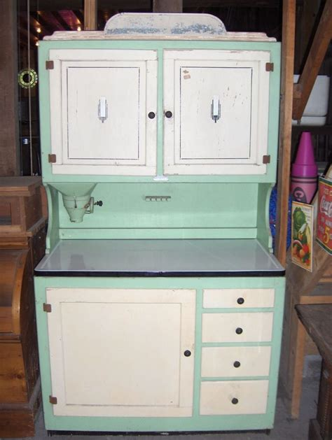 Antique Hoosier Cabinets by