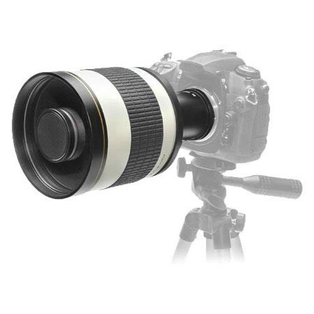rokinon 800mm multi coated mirror lens with 2x