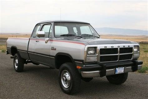 sell used 1993 dodge ram 2500 in hill city kansas united states for us 16 200 00 purchase used 1993 dodge ram 2500 4x4 diesel in cottonwood idaho united states