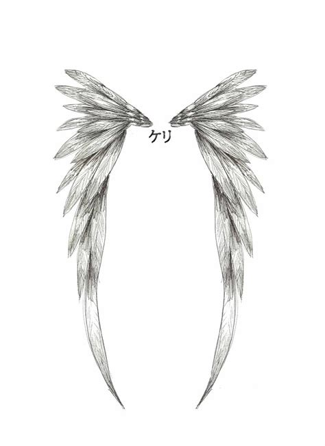 simple tattoo wings simple angel wings tattoo angel wing tattoo design by