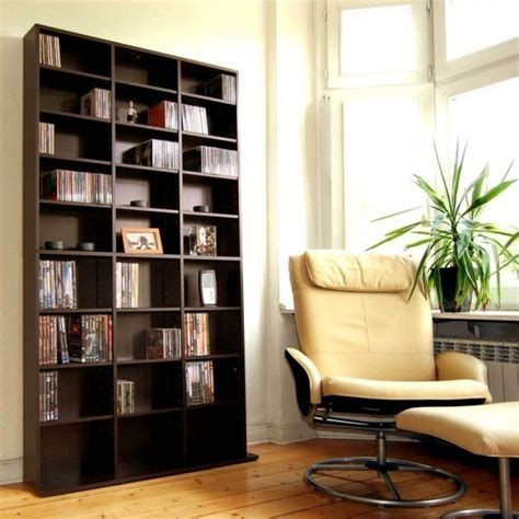bücherschrank modern cd dvd regal schrank vitrine wandregal b 252 cherschrank