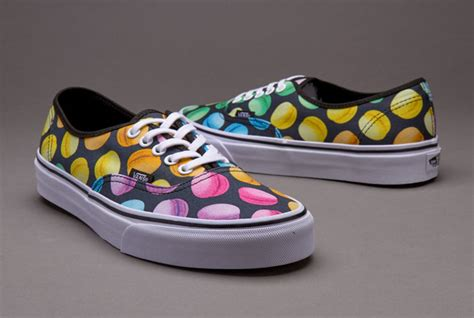 Macaroons Shoes womens shoes vans authentic late black macaroons