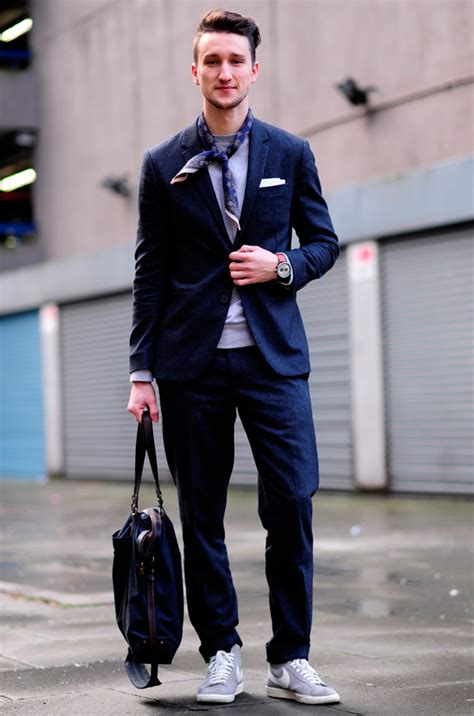 suit sneakers how to sneakers with suits