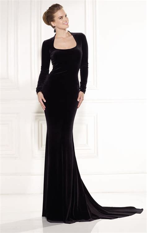 Sleeve Floor Length Black Dress by 2015 Robe De Soiree Formal Dress With Sleeve