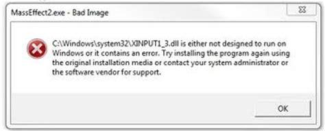 xinput1 3 dll how to fix xinput1 3 dll errors on a windows system