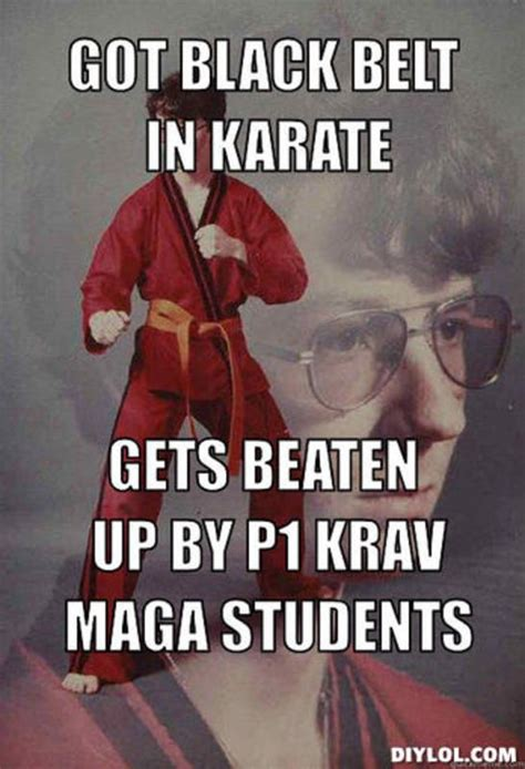 Karate Meme Generator - 55 best krav maga images on pinterest marshal arts krav