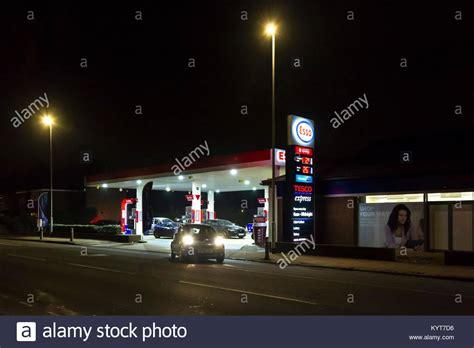 express haircut wellingborough europe uk england petrol station stock photos europe uk