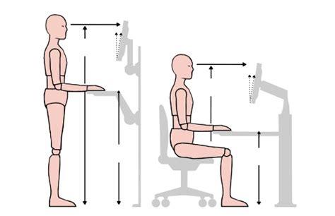 Computer Desk Posture Proper Computer Desk Posture Home
