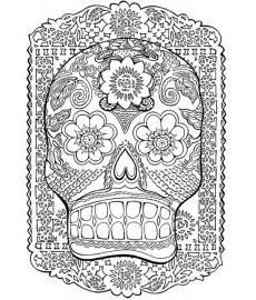 art on wood 187 blog archive 187 mexican folk art skull pattern