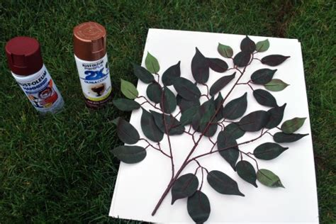 spray paint materials needed diy spray paint flower easy and cheap
