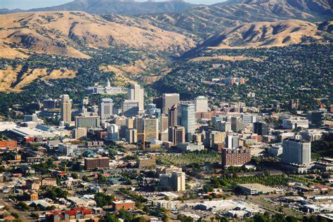 salt lake city utah map usa salt lake city utah usa aerial view of salt lake city