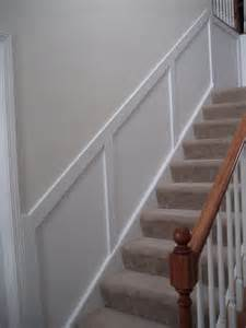 Wainscoting Ideas For Stairs by Remodelaholic Wainscoting Central Guest Party Highlight