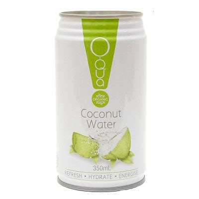 Can We Detox With Coconut Water by Oqua Organic Coconut Water Can 350ml Naturally Organic