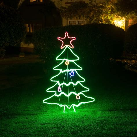 shopko led christmas trees christow tree rope light silhouette this is it stores uk
