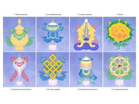 imagenes y simbolos del budismo los 8 signos auspiciosos
