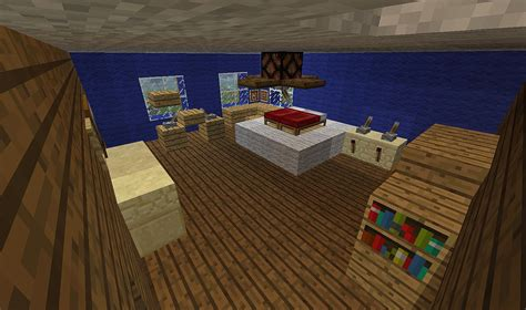Bedroom In Minecraft by The Gallery For Gt Minecraft Modern House Bedroom