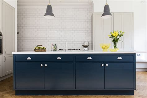 The Kitchen Collection frillen with hague blue island sola kitchens sola kitchens