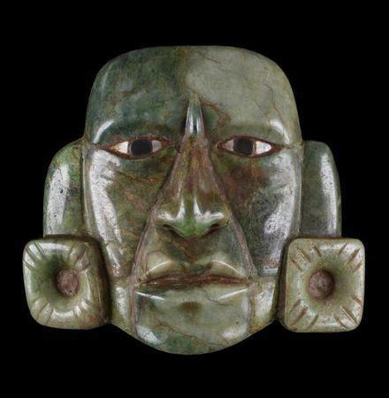 mask, guatemalan (mayan style), guatemala, ad 250 850