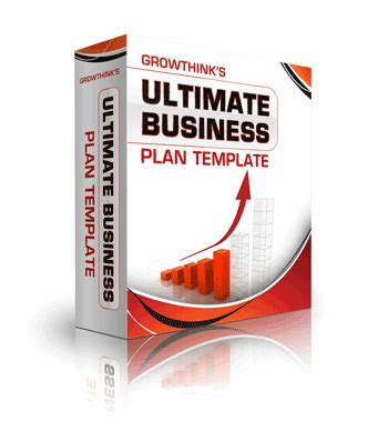 Growthink S Ultimate Business Plan Template by Investors Venture Capital Database Fundingsavvy