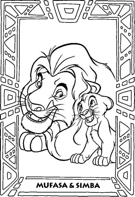coloring pages  lion king images  pinterest