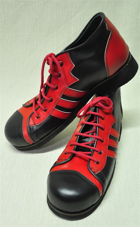 clown shoes zyko professional real leather clown shoes 3 lines model