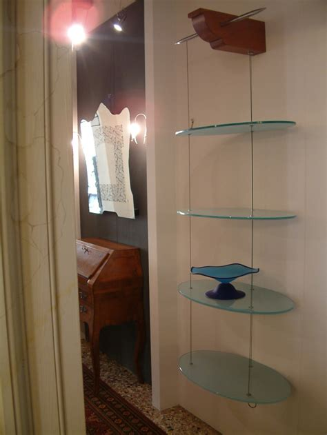 mensole sospese casa immobiliare accessori mensole vetro sospese