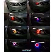 Saab 9 3 Custom Multi Color COB Headlights
