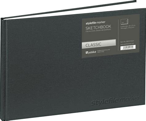 format file bb stylefile marker classic schetsboek din a4 horizontal
