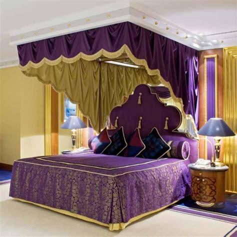 arabian bedroom lavishly appointed luxury suites at burj al arab