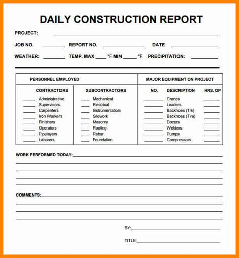 daily status report sle daily status report template pictures inspiration