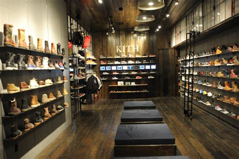 shoe store atrium kith shoe store opens cleanroom news