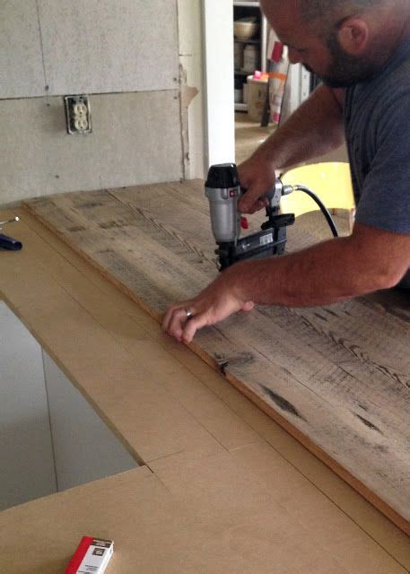 The Craft Patch How To Diy Laminate Countertops Diy Reclaimed Wood Countertop Diy Furniture Upholstery Construction Wood