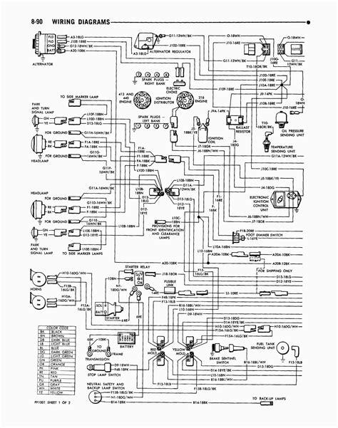 1979 Dodge Pickup Electrical Wiring Wiring Diagram
