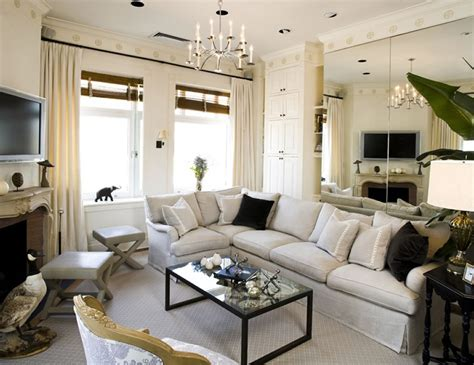 modern chic living room interior design ideas sara gilbane manhattan nyc new york by design