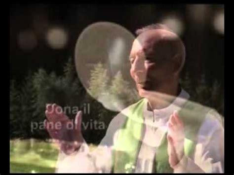 misericordias domini testo sei tu signore il pane con intermezzi organistici