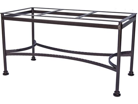 ow classico wrought iron dining table base 9 dt07
