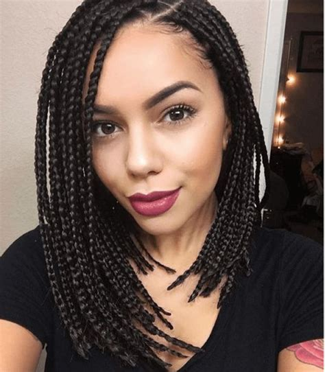 box braids color curly 30 id 233 es coiffures box braids qui d 233 chirent curly s