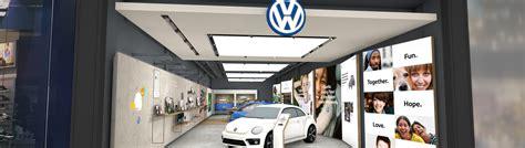 volkswagen store volkswagen readies retail store for opening