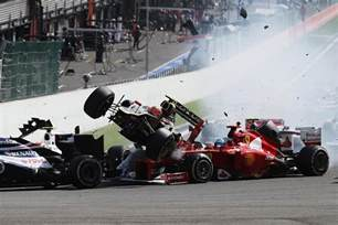 F1 Crash 6 F1 Crashes That Drivers Walked Away From