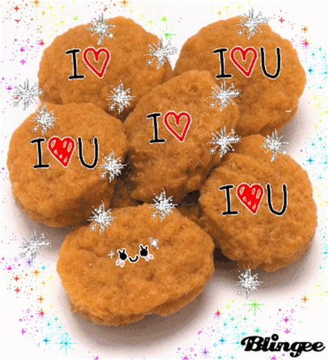 Nuget Cutel chicken nuggets picture 125103270 blingee