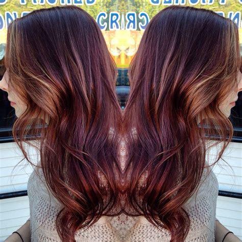 how to highlight mahogany hair mahogany hair with some carmel framing highlights