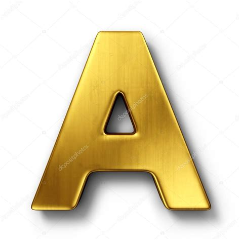 Letter A Photos the letter a in gold stock photo 169 zentilia 8292934
