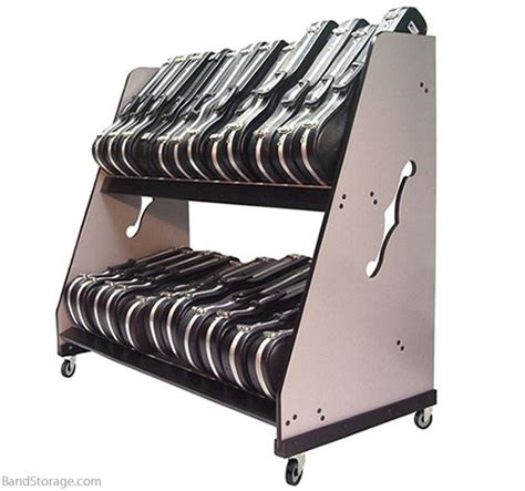 violin viola shelf rack for classrooms