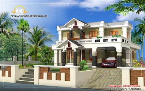 beautiful house elevation design 2400 sq ft kerala