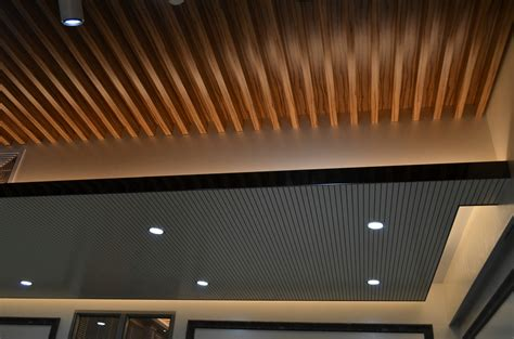 Composite Wood Ceiling by Decorative Wood Ceilings Colored Ceiling Tiles Composite